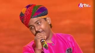 Jasu Khan - Kesariya Balam Padharo Mhare Desh - Liveshows - Episode 28 - The Voice India Kids