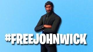 ¡Combinación de cuentas de Fortnite RANT! ¡Ayúdame a liberar a John Wick!
