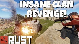RUST | FIGHTING A CLAN who wanted REVENGE! - Greatest Wipe Ever - Ep4