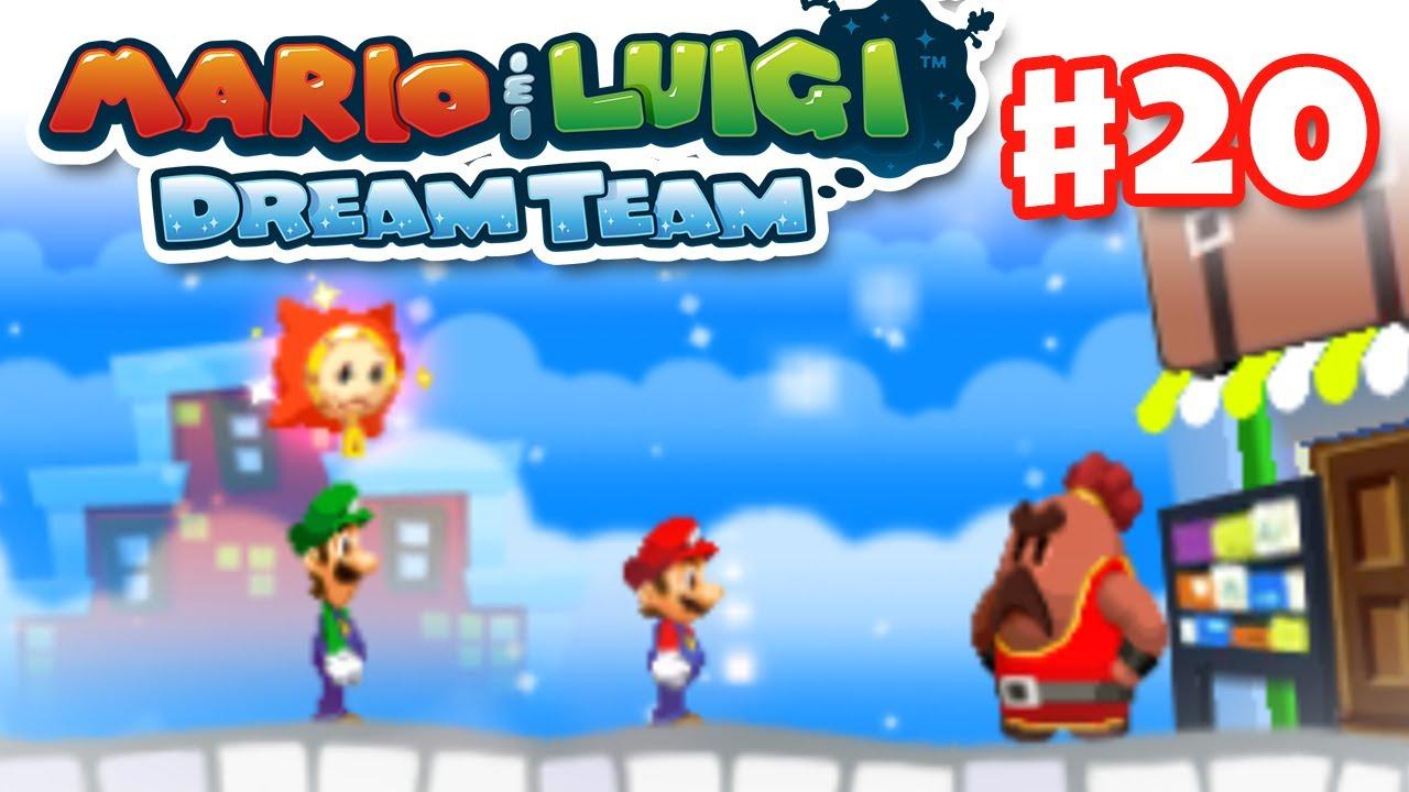 Mario Luigi Dream Team Gameplay Walkthrough Part 20 Big