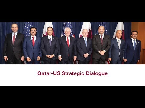 Qatar US strategic dialogue EN