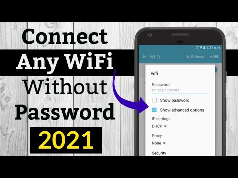 How To Connect Any WiFi Without Password 2020