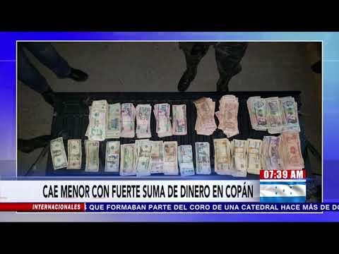Menor de edad capturado con un vehículo de lujo y fuerte cantidad de dinero en efectivo