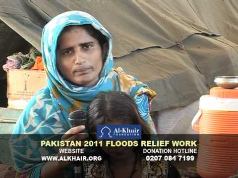 AL-KHAIR - PAKISTAN FLOODS - SHAZIA HEART GIRL