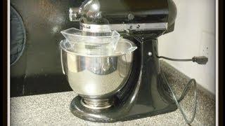 My Kitchen Aid Mixer - Chocolate Chip & Cinnamon Pillsbury Quick Bread