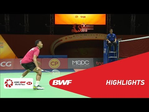 Princess Sirivannavari Thailand Masters 2018 | Badminton MS - F - Highlights | BWF 2018