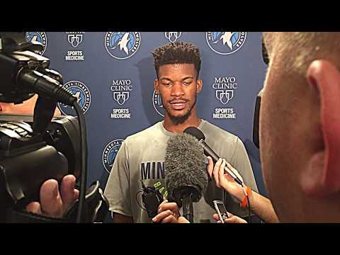 11/3/17: Jimmy Butler on creating a winning culture