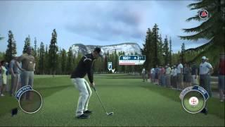 Tiger Woods 14 Simulation Career Gameplay Walkthrough Part 36 - Round 1 of 2 at Banff Springs