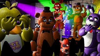 [FNAF SFM] Five Nights at Freddy's Animation: The Replacements (FNAF ANIMATED)