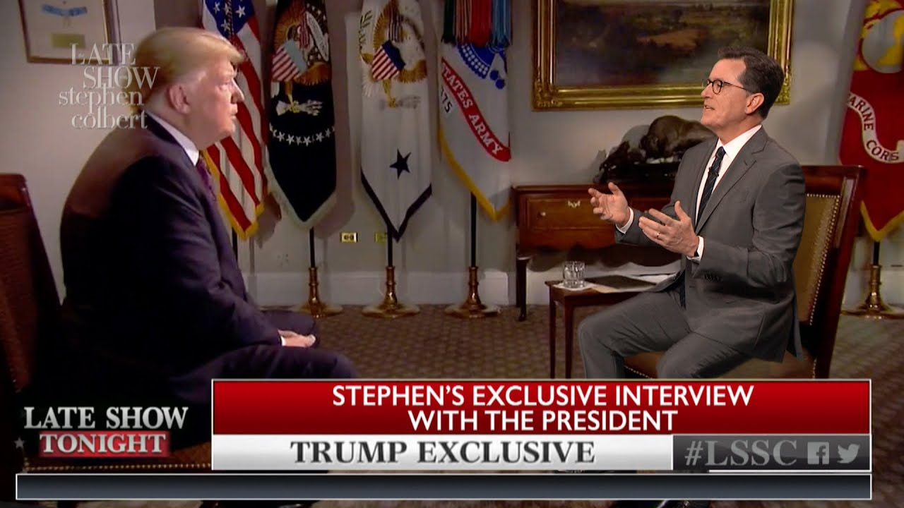 Stephen Interviews Chris Wallace's Interview Of Donald Trump