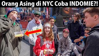 NYC Strangers Try INDOMIE for the First Time?! (Indonesian Instant Noodles)