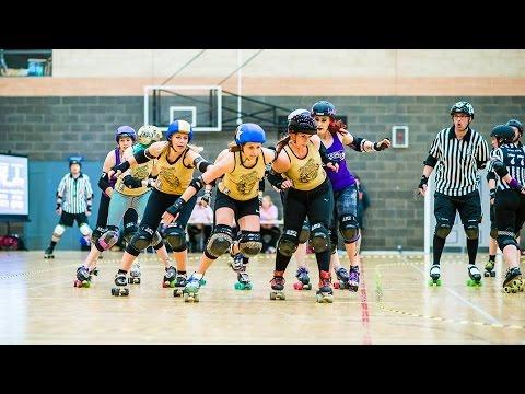 Newcastle Roller Girls on MADE TV