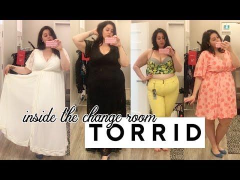 Inside the Change Room | Torrid Plus Size Try On Haul