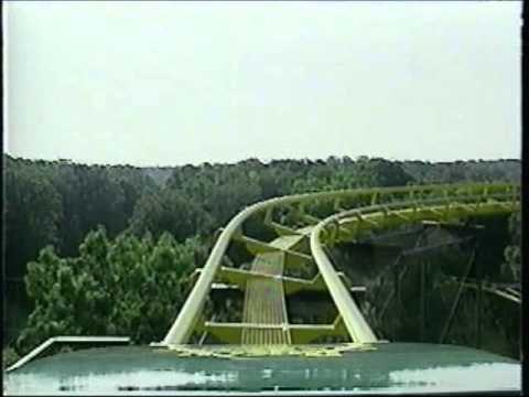 Loch Ness Monster At Busch Gardens Europe - YouTube