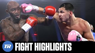 Edgar Berlanga Goes 15 for 15, 15 fights 15 1st Round Finishes over Bellows | FIGHT HIGHLIGHTS