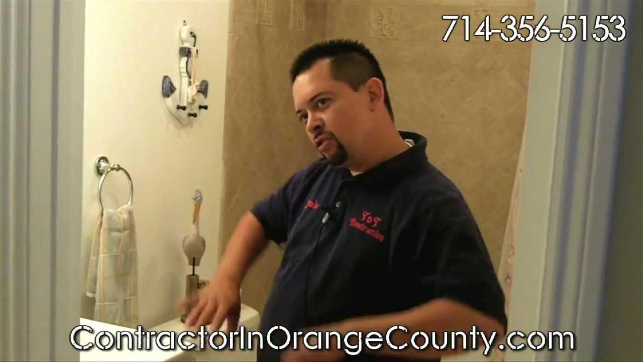 Bathroom remodel orange county ca anaheim hills ca brea orange villa park irvine ca for Bathroom remodeling irvine ca