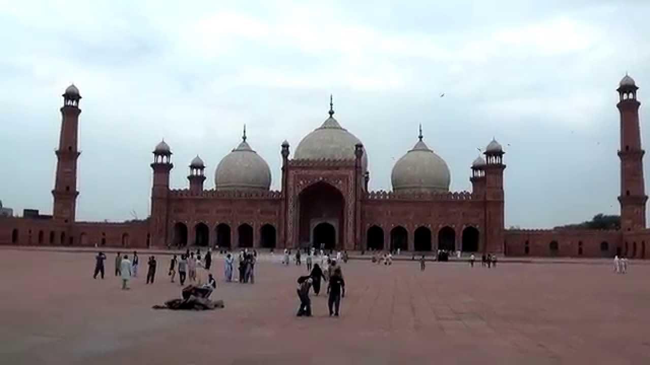 Lahore Badshahi Mosque 🕌 Virtual Tour | Punjab | Pakistan ...