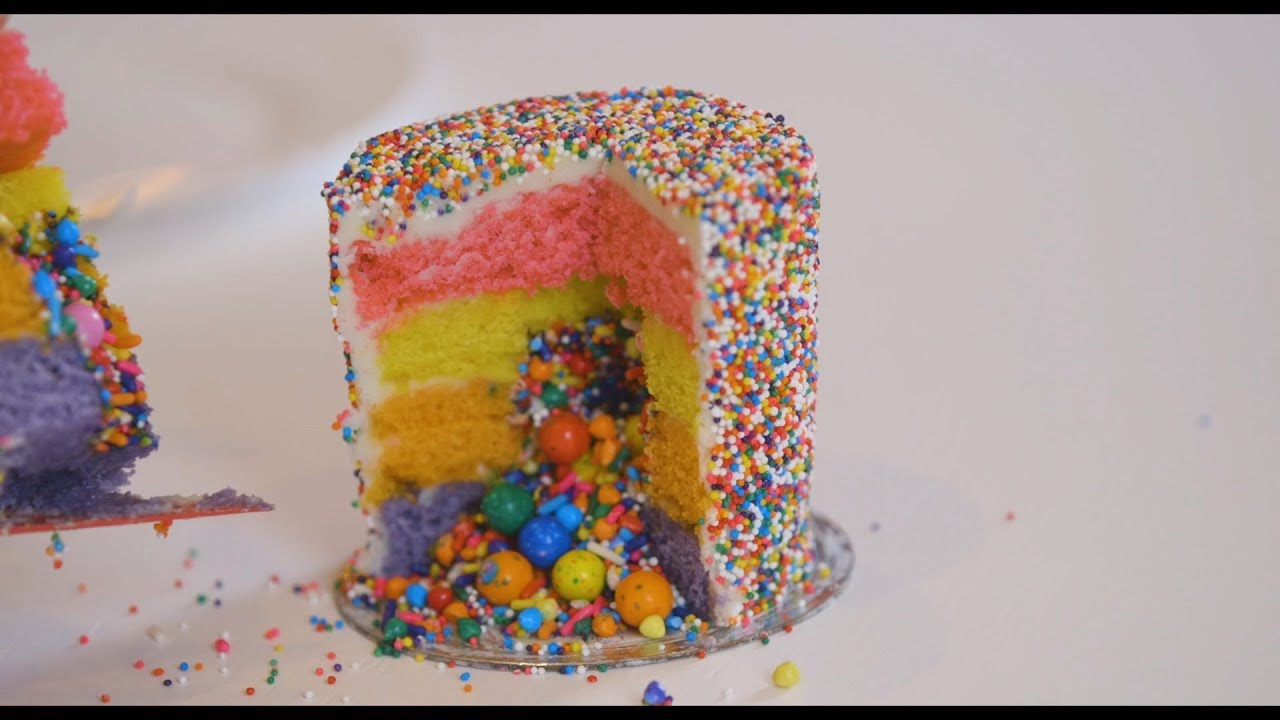 NYLON X Flour Shop Rainbow Cake Tour