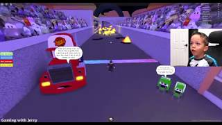 SAVE LIGHTNING MCQUEEN + MINION ADVENTURE ROBLOX OBBY!