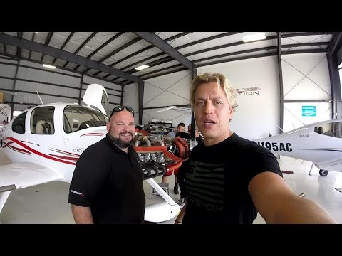 Cirrus SR22 Annual Inspection, ADS-B Upgrade and First Test Flight