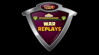 Clash of Clans - War Clan Attacks #23 - Desbudegados