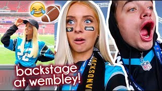 BRITS take on AMERICAN FOOTBALL  😂 my first NFL game!