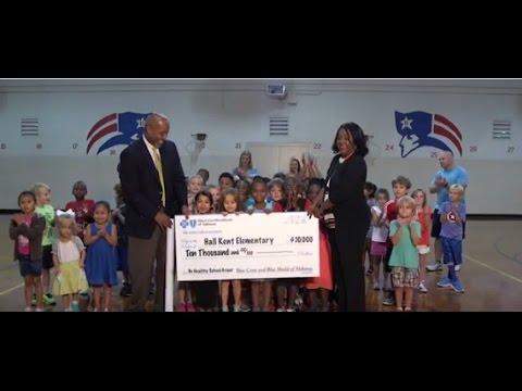 2017 Be Healthy School Grant Recipient: #Hall Kent Elementary School#