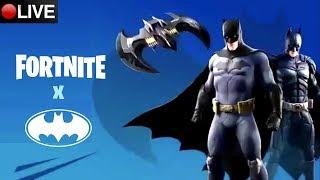 Fortnite - EVENTO DO BATMAN AO VIVO - Apoie canalgeekmix