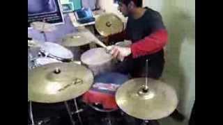 Yun Hi Chala Chal Rahi Drum Cover