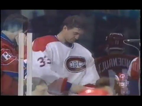 Patrick Roy Vs. Mario Tremblay - LIVE