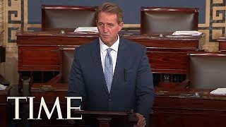 Senator Jeff Flake Pushes For Bipartisan Resolution On Russian Interference In 2016 Election | TIME
