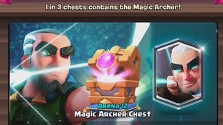 MAGICAL ARCHER CHEST OPENING! :: Clash Royale :: SPECIAL LEGENDARY CHEST!