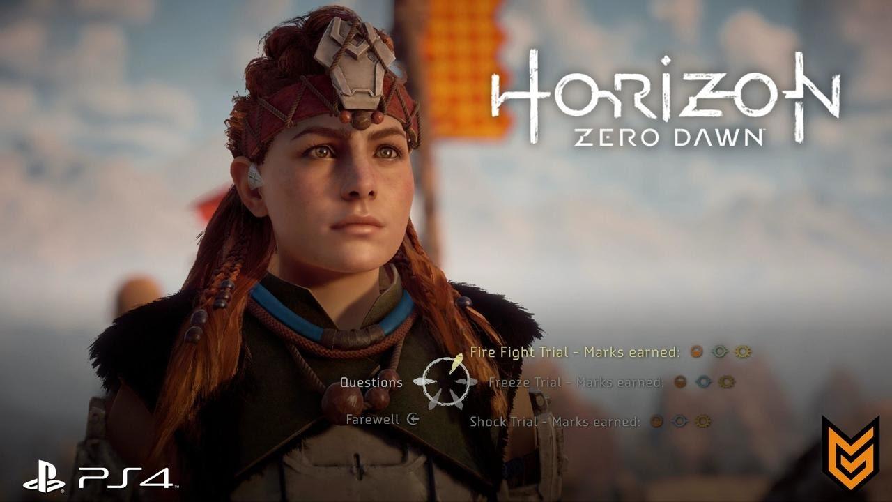 horizon zero dawn fire fight trial