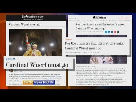 Pressure on Cardinal Donald Wuerl to Resign - ENN 2018-08-17