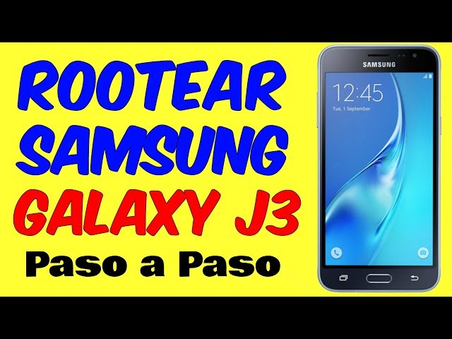 How to Root The SM-J320A/SM-J320AZ | CuteHowTo | Video How