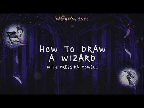 HOW TO DRAW A WIZARD with Cressida Cowell