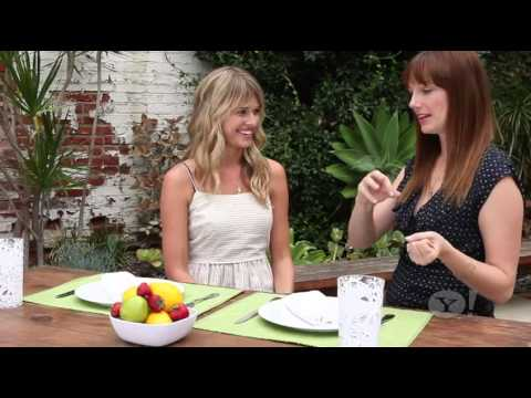 Sarah Wright Olsen talks Gluten Free Food