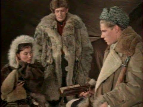 Следы на снегу,1955, приключенческий фильм