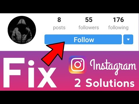 How to Fix Follow Error Problem in Instagram Can't Follow