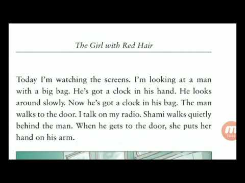 English Story In Urdu ! Hindi~The Girl With Red Hair By Christine Lindop~Learn English Through Story