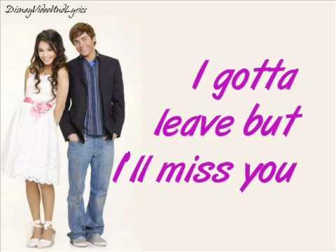 HSM2 Troy & Gabriella -  gotta go my own way Lyrics