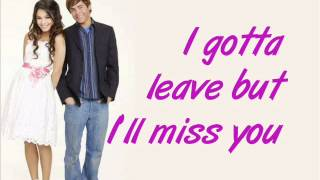 HSM2 Troy & Gabriella -  gotta go my own way Lyrics