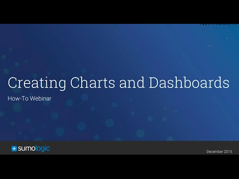 How-To Webinar: Visualizing your Data through Charts and Dashboards