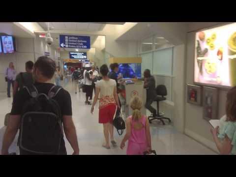 Inside Terminal E - Dallas-Fort Worth International Airport