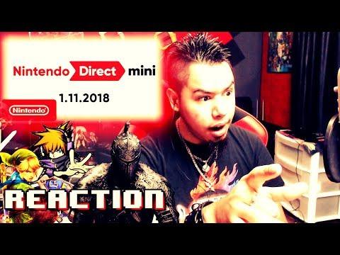 Nintendo Direct Mini 1.11.2018 REACTION!