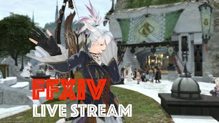 Streaming Final Fantasy XIV