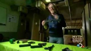 Silencerco on Mythbusters