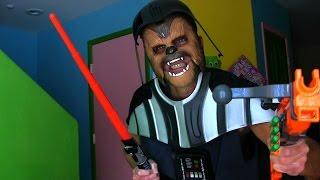 Darth ChewbacAder! Star Wars The Force Awakens Toy Review    Star Wars Toy Review    Konas2002