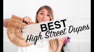 BEST HIGH STREET DUPES | CULT GAIA, CHLOE, BALENCIAGA, DOLCE & GABANNA, GUCCI, DIOR | SINEAD CROWE