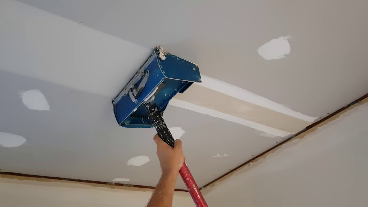 Drywall Ceiling With Flat Box